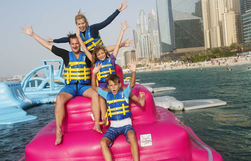 Dubai offers many options for family fun.
