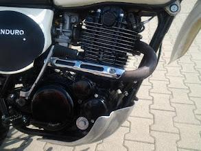 Photo: Motor im Detail.