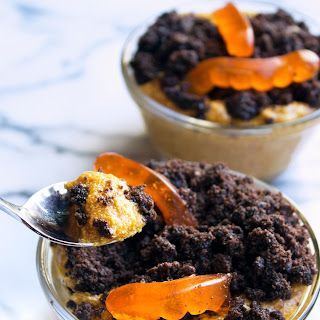 Pumpkin Dirt Pudding Cups