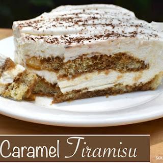 Easy & Decadent Caramel Tiramisu