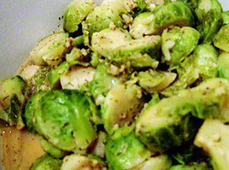 Dilled Brussels Sprouts Recipe