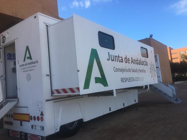 Comienza el cribado masivo en Almería capital.