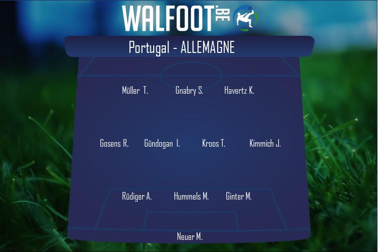 Allemagne (Portugal - Allemagne)