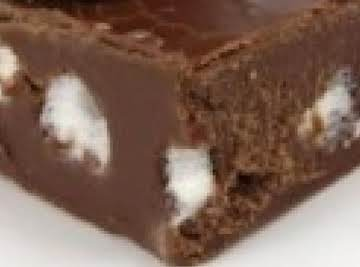Rock and Roll fudge (microwave)