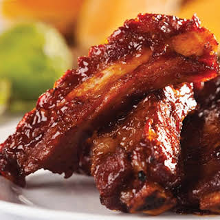 Slow Cooker Barbecued Spareribs.