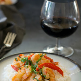 Tropical Teriyaki Pineapple Pepper Shrimp