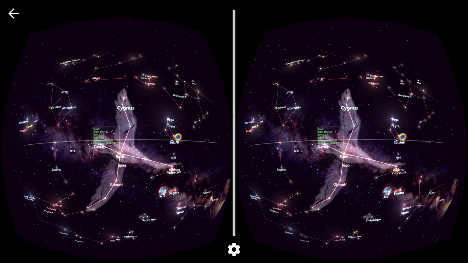 StarTracker VR -Mobile Sky Map- screenshot