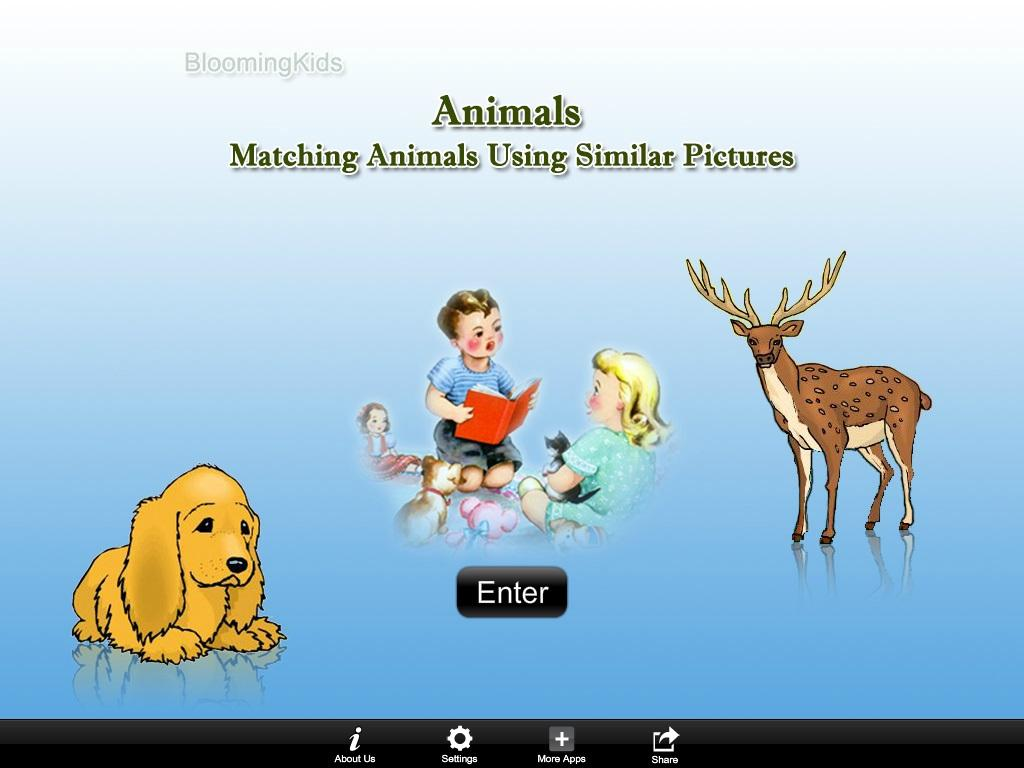 Matching Animals Sim Pic Lite- screenshot