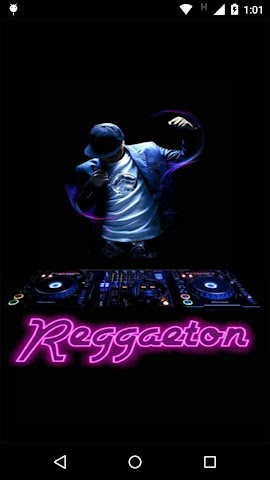 android Reggaeton Musica Videos Radio Screenshot 0