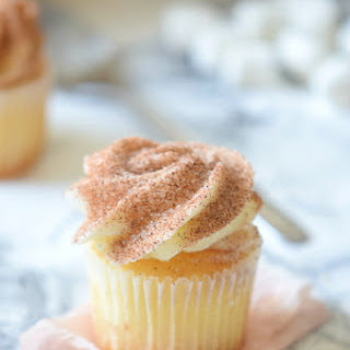 Apple Cider Donut Cupcakes