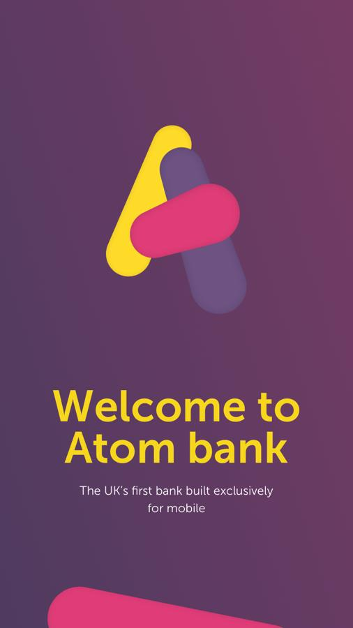 Atom bank- screenshot