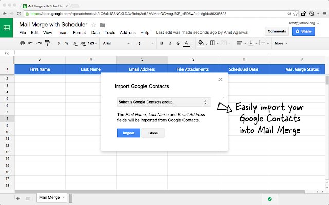Mail Merge with Attachments - G Suite Marketplace