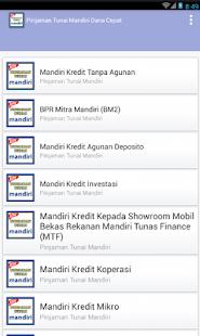 Pinjaman Tunai MANDIRI - Dana Cepat - náhled
