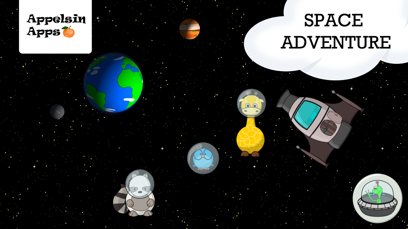 Gigi Space Adventure for Kids- screenshot