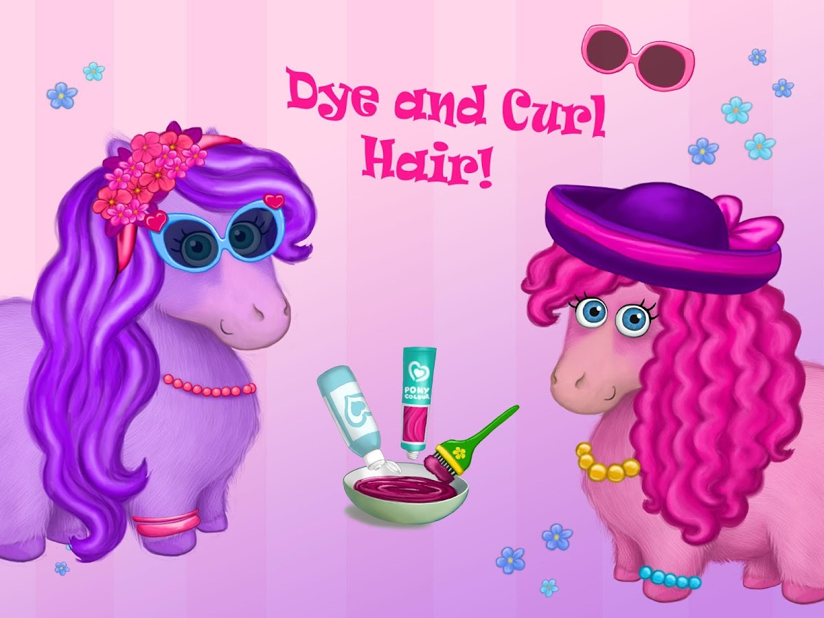 Pony Sisters in Hair Salon- screenshot
