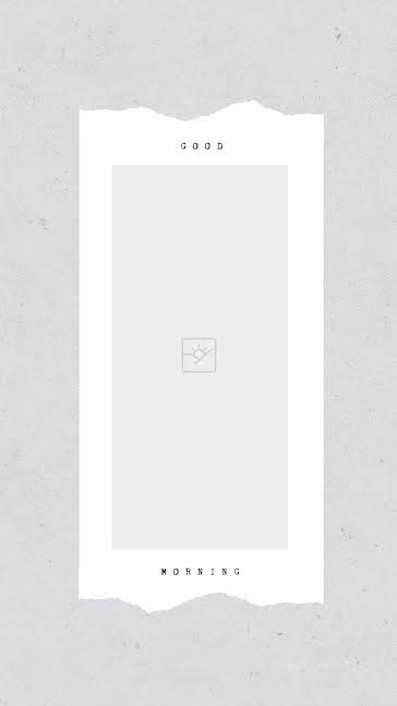 Good Morning Frame 01 - Facebook Story template