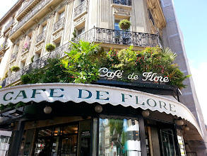 Photo: One of the oldest & most prestigious coffee houses in Paris, it's hosted many French greats in the years following the war, like it's rival, Les Deux Margots.