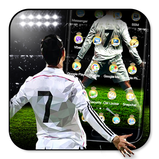 3D Madrid Football Theme