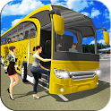 Offroad Uphill Coach Sim: Modern Bus Driving Game icon