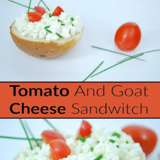 Tomato And Goat Cheese Sandwitch
