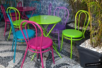 Photo: Color en la terracita del Museu da Cidade de Aveiro