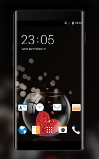 Theme for HTC Desire 826 Heart Wallpaper - náhled