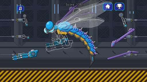 Robot Jurassic Dragonfly 2.3 screenshots 1