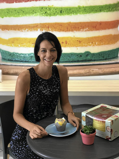 HEY, CHERRY: Jandri van Zyl is the owner and founder of The Velvet Cake Co