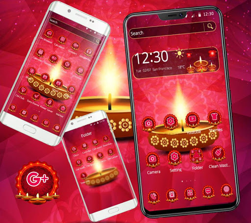 diwali hot theme screenshot 3