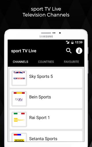 download sport tv live television google play softwares. Black Bedroom Furniture Sets. Home Design Ideas