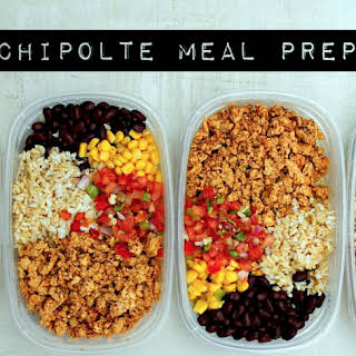 Chipotle Burrito Bowl Meal Prep.
