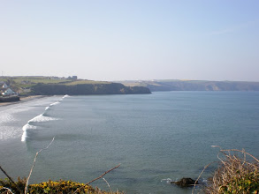 Photo: From Broad Haven to Solva (Broad Haven beach)