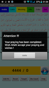 Salat-i Tefreciye 4444 Prayer screenshot 4