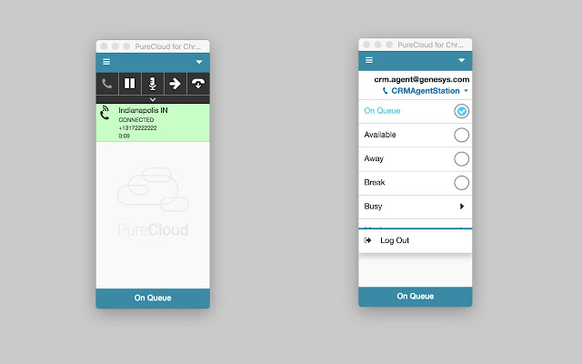 PureCloud for Chrome