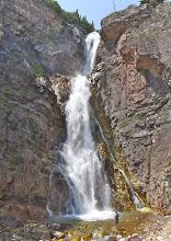 Photo: Mark below Appekunny Falls