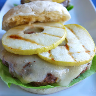 Green Apple and Brie Burgers.