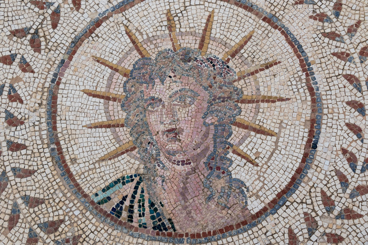 Sol Invictus in the Planetarium mosaic — Google Arts & Culture