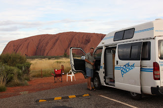 Photo: Year 2 Day 218 - Rog and Nancy at Uluru