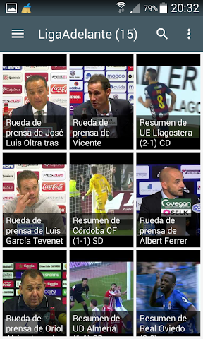 android Live Football Scores Laliga Screenshot 1