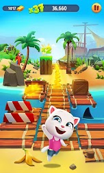 Talking Tom Gold Run APK screenshot thumbnail 4