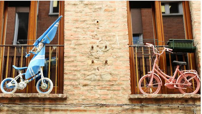 biciclette alla finestra di luciano55