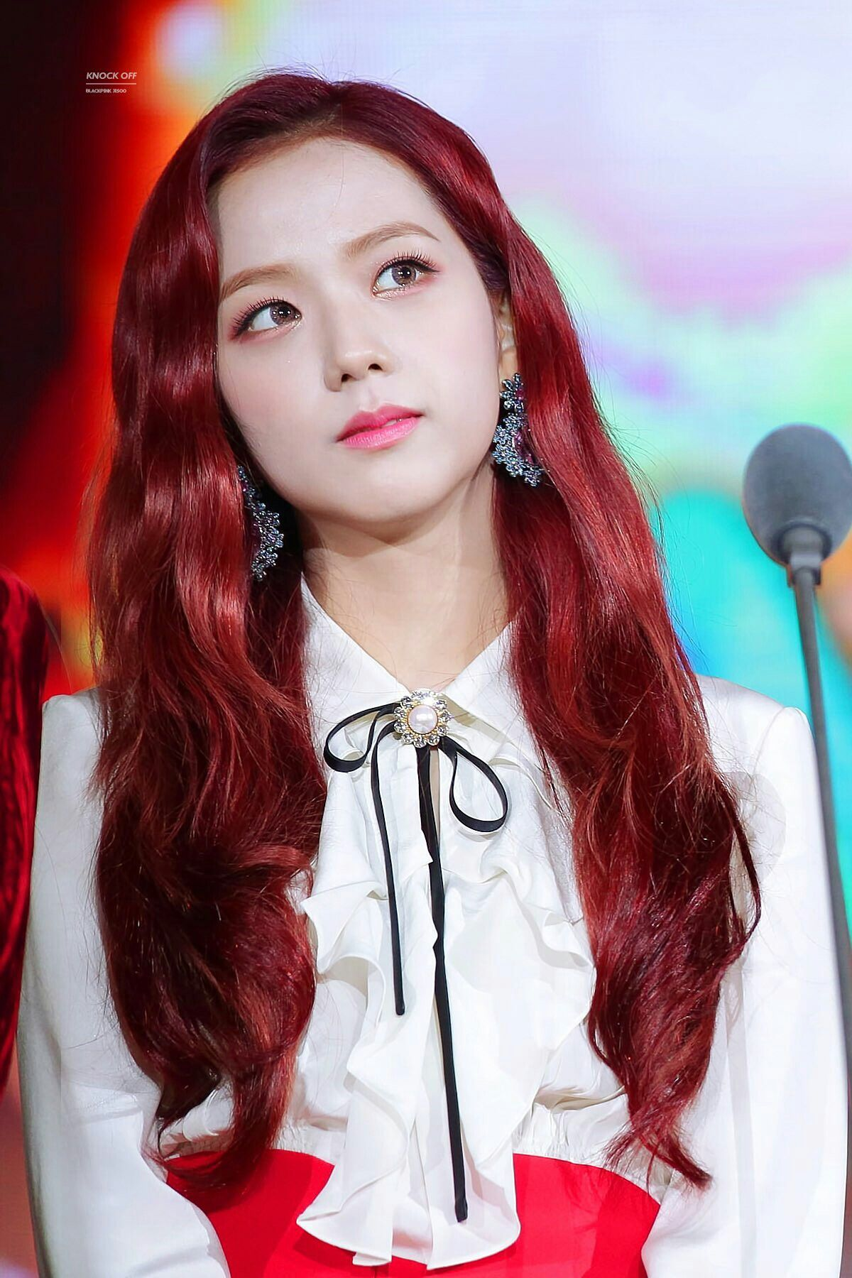 Bts Cute Wallpaper Iphone 16 Female K Pop Idols Who Slayed With Red Hair Koreaboo