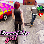 Grand City Girl Android APK Download Free By ActionCrab Games