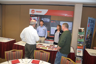 Photo: Trane table top display