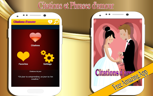 Citations et Phrases d'amour