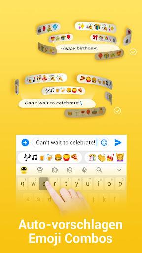 Facemoji Emoji TastaturGIF Tastaturdesign