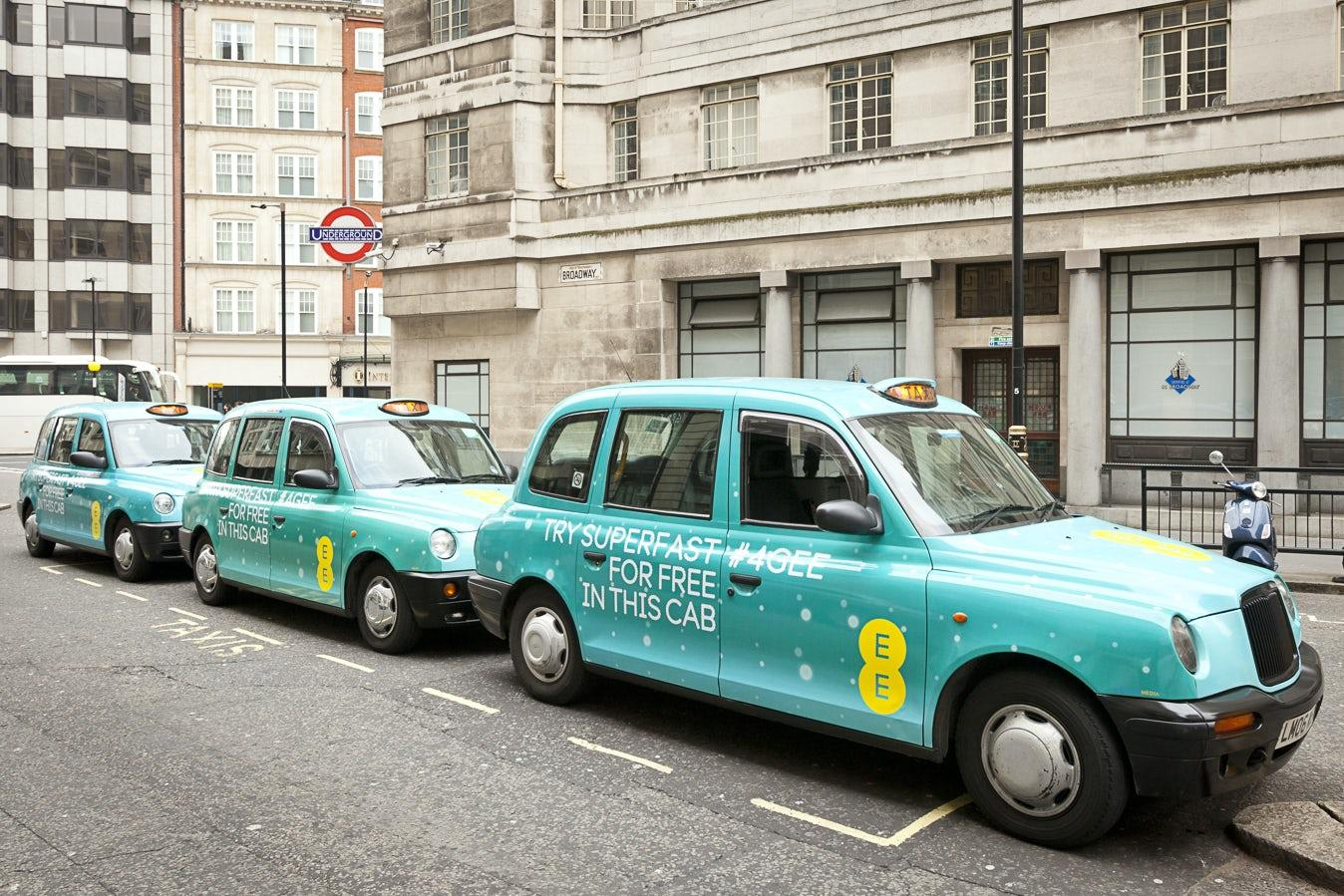 EE hammers home 4G advantage with taxi fleet – Marketing Week