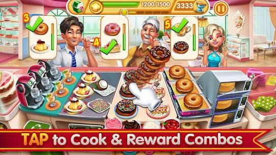 Cooking City: crazy chef' s restaurant game 3