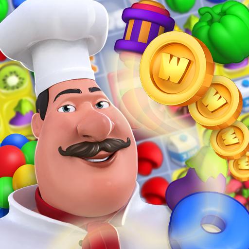 Wonder Chef: Match-3 Puzzle Game Icon