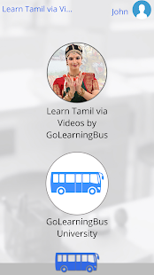 Learn Tamil via Videos- screenshot thumbnail